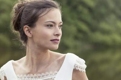 Brautkleider im Audrey HepburnStil