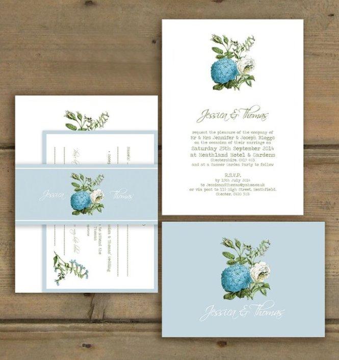 Autumn Wedding Invitations Kit