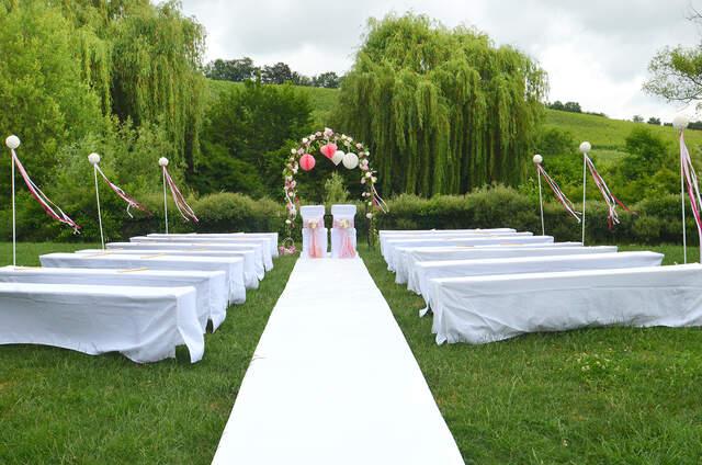 Hochzeitsdekoration in BadenWrttemberg