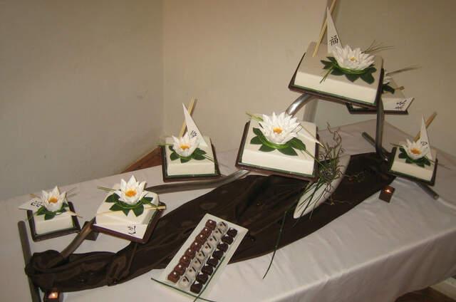 Hochzeitstorte und Sigkeiten in Niedersterreich
