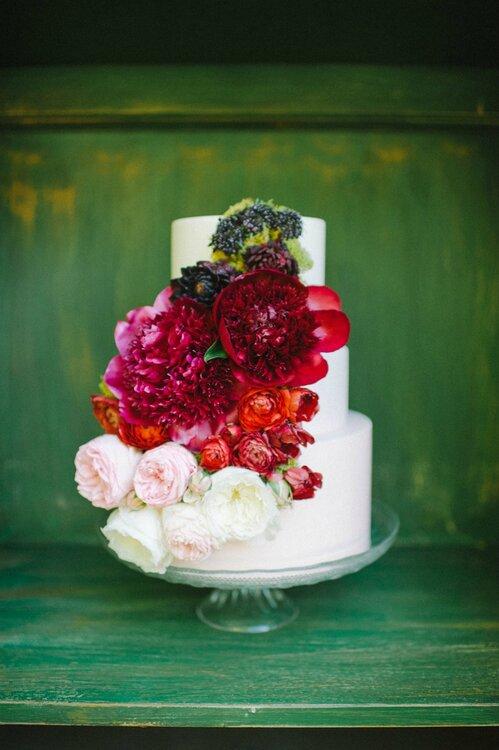 Hochzeitsdekoration 2015 Rosen als besonderes Detail