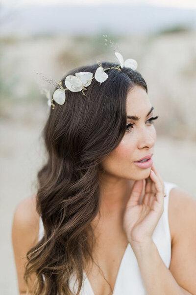 Peinados de novia con pelo suelto Apuesta por lo natural