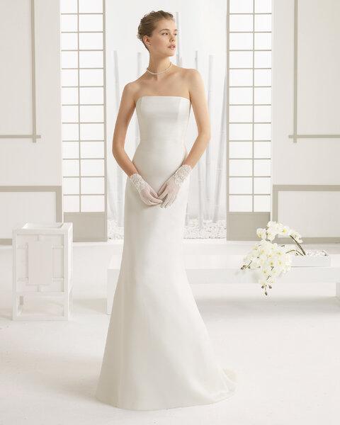 Minimalistische Brautkleider 2016 So zeigen Sie wie bezaubernd einfache Brautmode sein kann