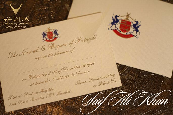 Photo Vardha Designer Wedding Invitation Cards
