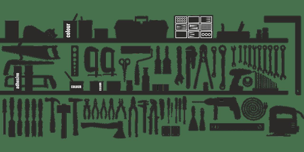 Tools Screwdrivers Drill Hammer  - kerut / Pixabay