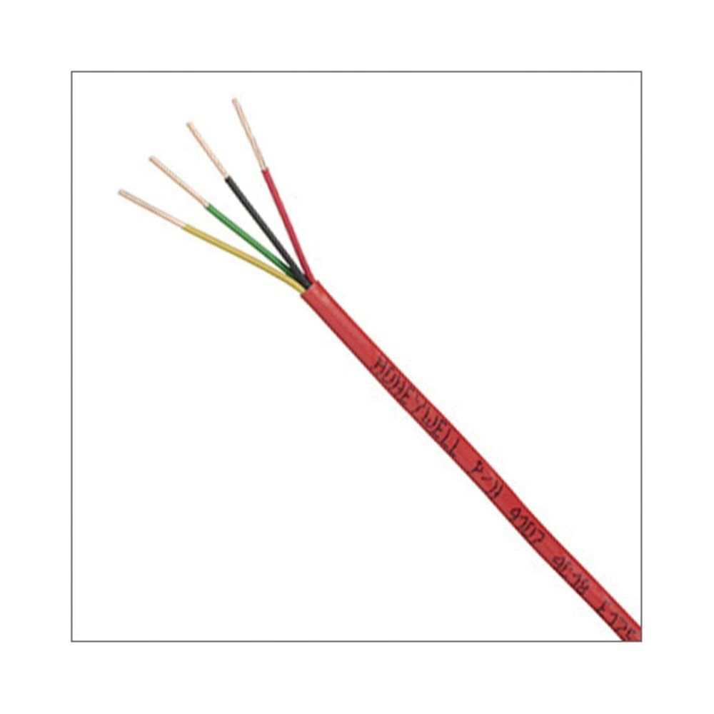 medium resolution of honeywell 45071104 genesis plenum power limited unshielded fire alarm cable 300 vac 4 18 awg bare solid copper conductor 1000 ft l smc electric