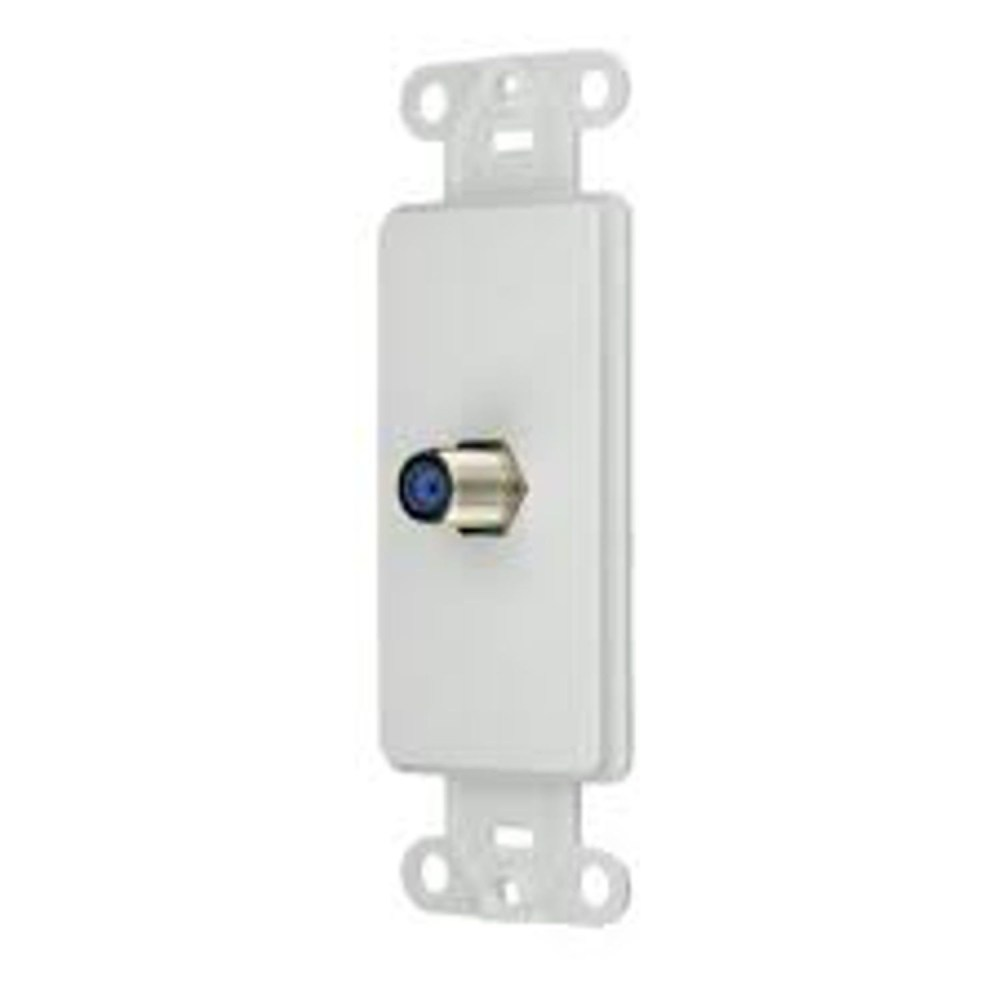 medium resolution of cooper wiring 2162w type f decorator insert cat 3 rj11 rj14 rj25 connector 1 port flush mount white state electric