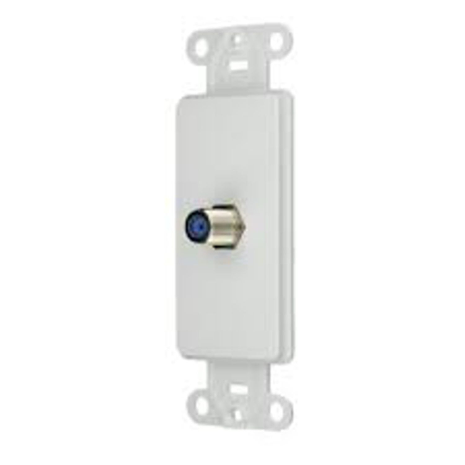 hight resolution of cooper wiring 2162w type f decorator insert cat 3 rj11 rj14 rj25 connector 1 port flush mount white state electric
