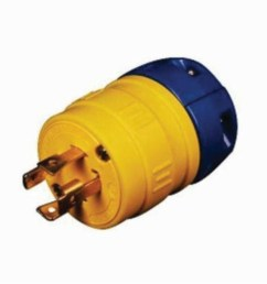 perma link 2524 p locking plug 480 vac 30 a 3 poles 4 wires yellow state electric [ 1500 x 1500 Pixel ]
