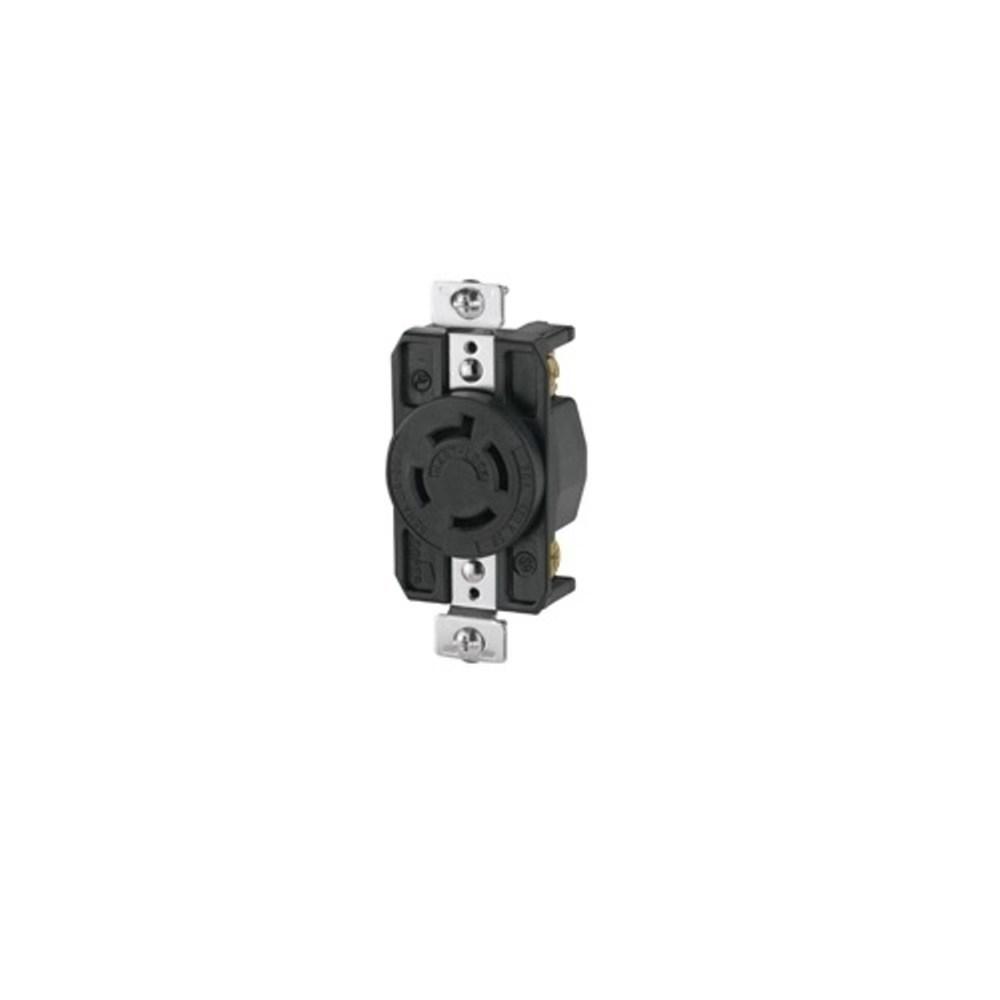 medium resolution of cooper wiring arrow hart ahl1620r locking single receptacle 480 vac 20 a 3 poles 4 wires black