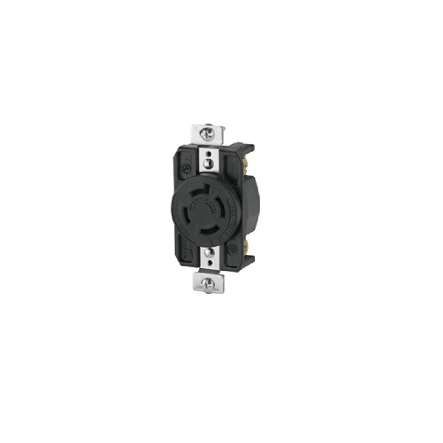 hight resolution of cooper wiring arrow hart ahl1620r locking single receptacle 480 vac 20 a 3 poles 4 wires black