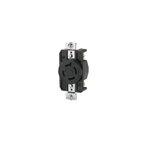 small resolution of cooper wiring arrow hart ahl1620r locking single receptacle 480 vac 20 a 3 poles 4 wires black