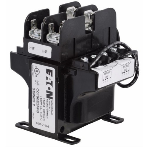small resolution of cutler hammer c0150e2afb industrial mte control transformer with primary fuse block 240 480 230 460 220 440 vac primary 120 115 110 v secondary 150 va