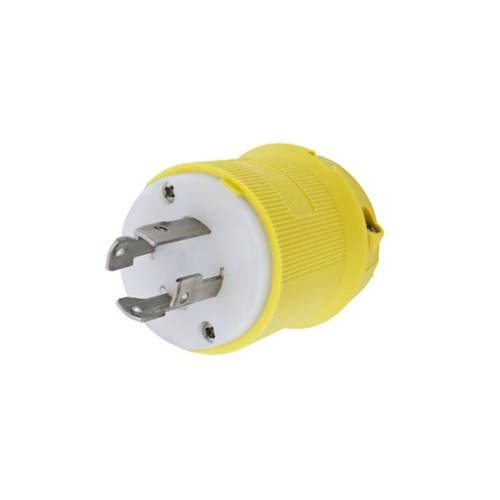 small resolution of wiring device kellems twist lock insulgrip hbl27cm31 3 phase corrosion resistant grounding male standard locking plug 480 vac 30 a 3 poles 4 wires