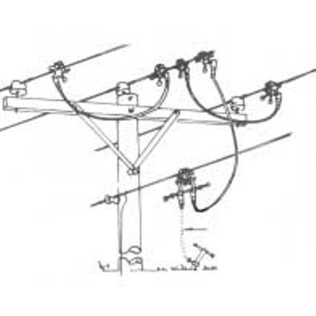 Honeywell Salisbury 4247 4 Wire Assembled Ground Cluster