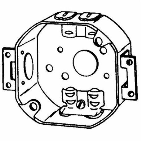 Appozgcomm 561LXE Octagon Box, Steel, 15.5 cu-in, 7