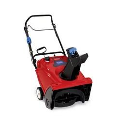 toro 721 qze power clear snow blower with electric start 212cc 4  [ 1500 x 1500 Pixel ]