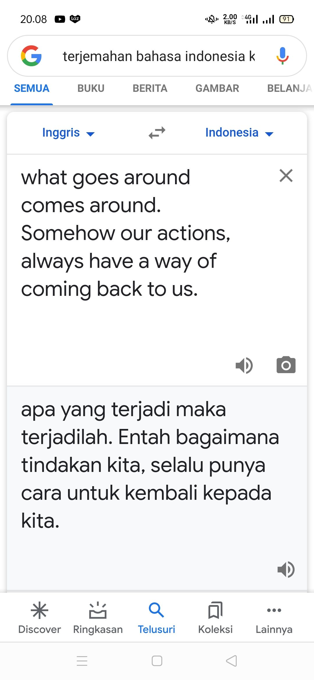 What Goes Around Comes Around Artinya : around, comes, artinya, Around,, Comes, Around, Halaman, Kompasiana.com