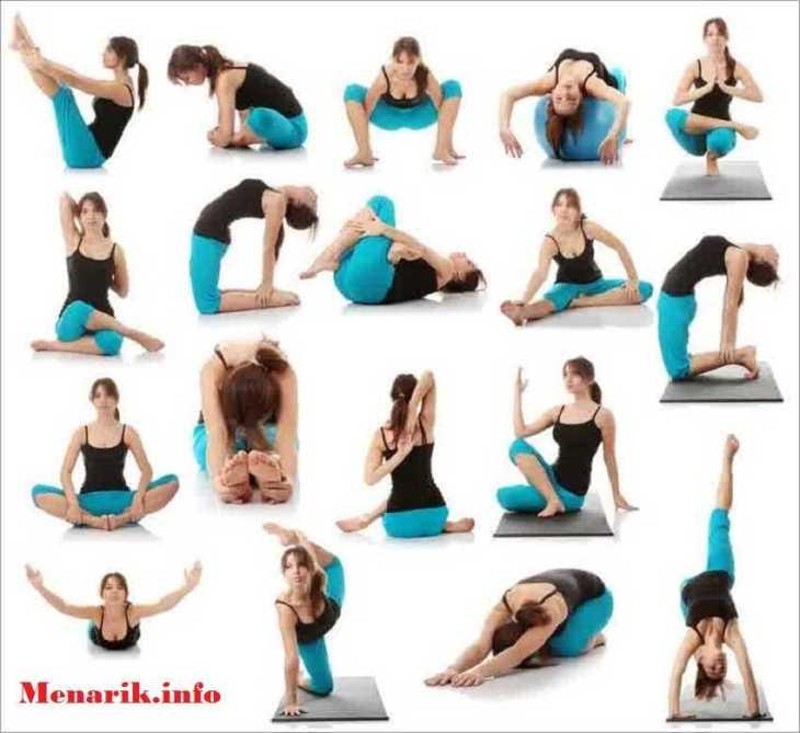 Cara senam yoga untuk mengecilkan perut oleh Virdha ...