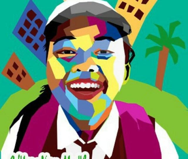 Belajar Membuat Gambar Wpap Seni Gambar Asli Indonesia