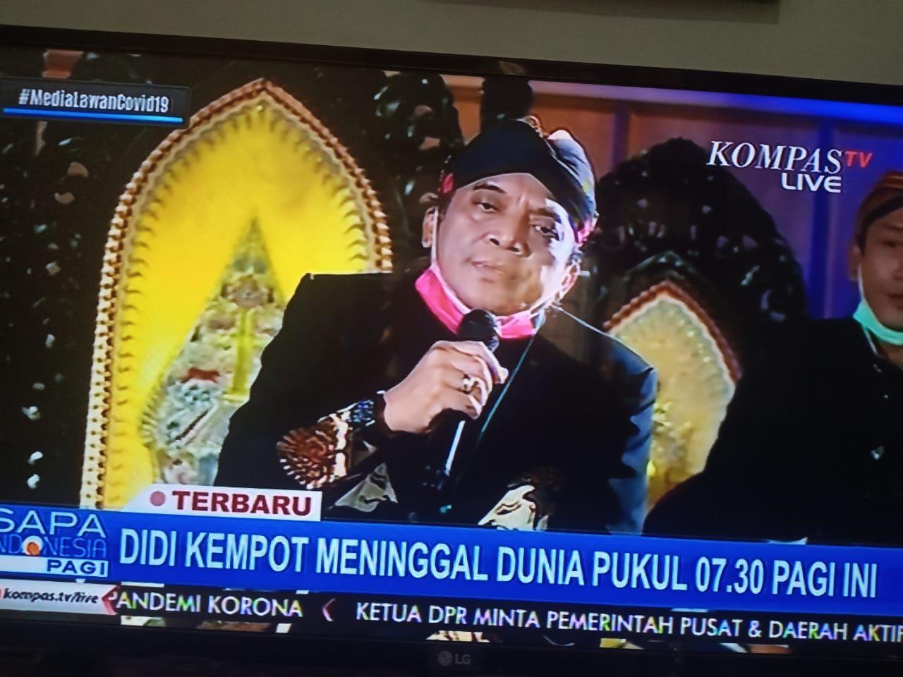Selamat Jalan Didi Kempot Indonesia Dan Sahabat Ambyar