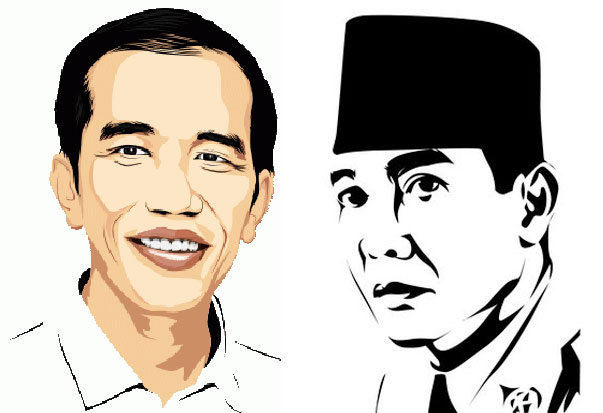 Jokowi Reinkarnasi Bung Karno oleh Rahab Ganendra