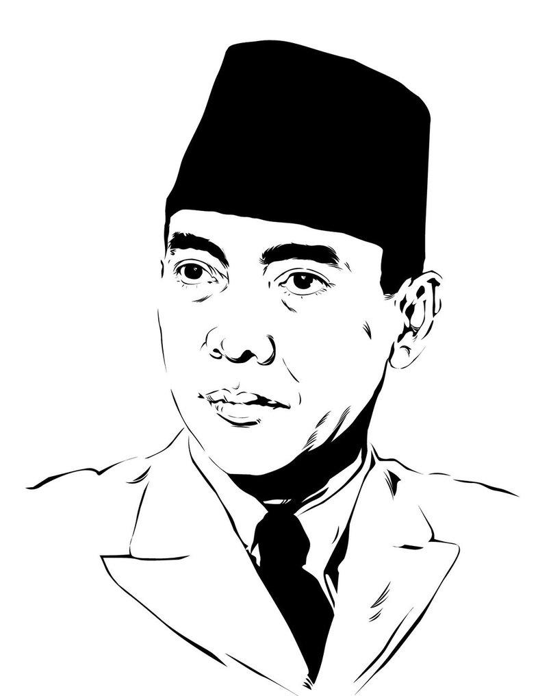Gambar Soekarno Hitam Putih : gambar, soekarno, hitam, putih, Gambar, Soekarno, Hitam, Putih