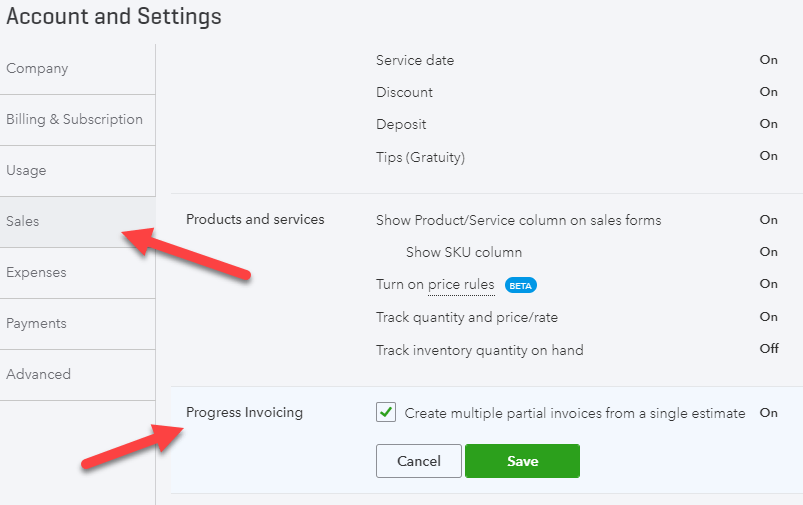 QuickBooks Progress Invoicing: Step-by-Step Instructions