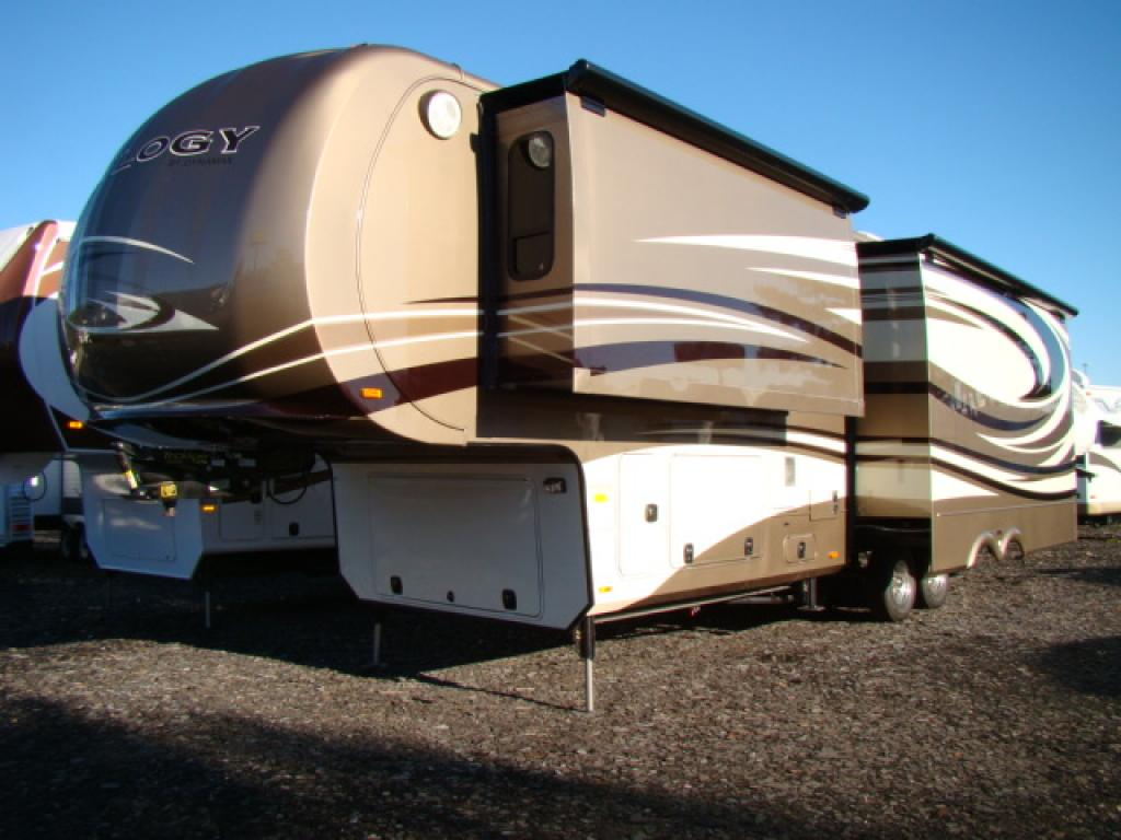New 2013 Dynamax Trilogy 3650RL Fifth Wheel at Dick Gores