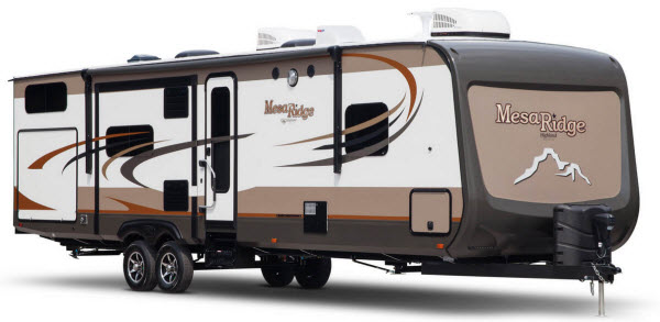 New Highland Ridge RV Mesa Ridge MR328BHS Travel Trailer