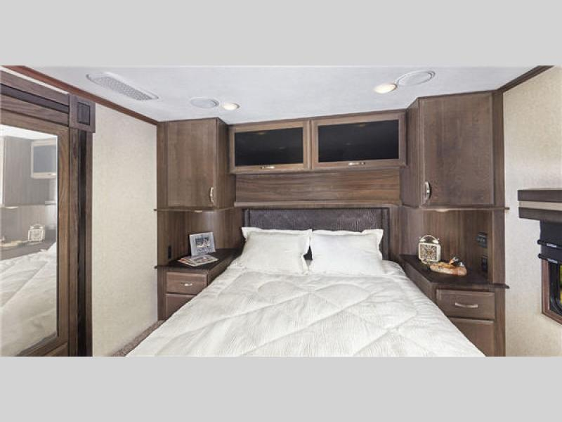 fifth wheel campers with bunkhouse and outdoor kitchen cabinets for less seismic toy hauler | rv sales 6 floorplans