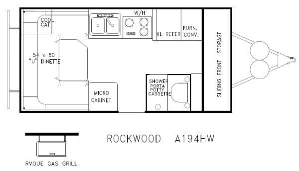 New 2013 Forest River RV Rockwood Hard Side Series A194HW