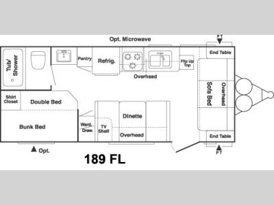 Used 2005 Keystone RV Springdale 189FL Travel Trailer at