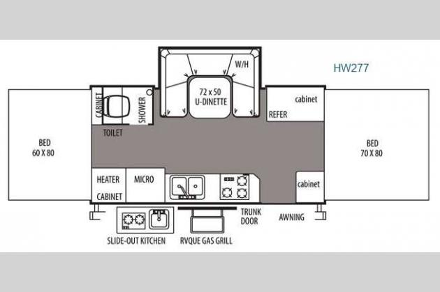New 2015 Forest River RV Rockwood High Wall Series HW277