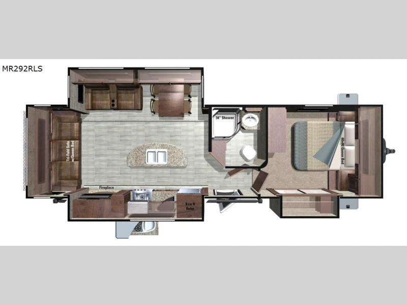 Mesa Ridge Travel Trailer  RV Sales  7 Floorplans