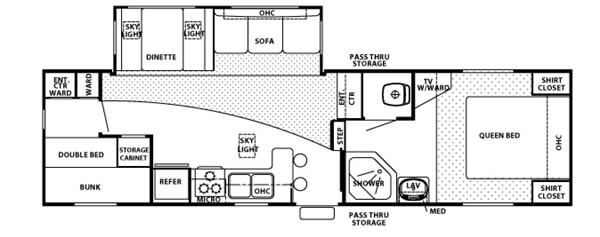 Used 2007 Forest River RV Cherokee 285B Fifth Wheel at