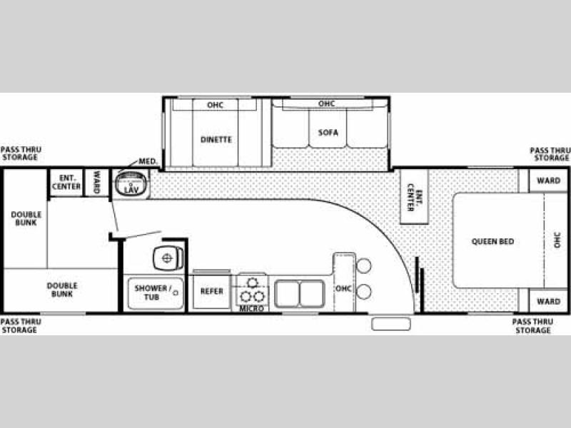 print sofa set cheap sectional sofas phoenix used 2006 forest river rv cherokee 32b travel trailer at ...