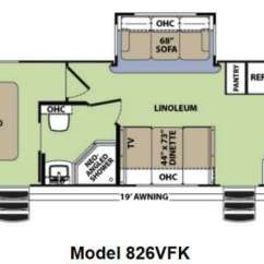 Front Kitchen Travel Trailer Aid Artisan Mixer Used 2013 Forest River Rv V Cross Vibe 826vfk At Floorplan Title