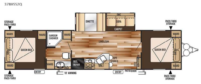 Two Bedroom Rv Floor Plans. Two Bedroom Rv Floor Plans   Home Decoration