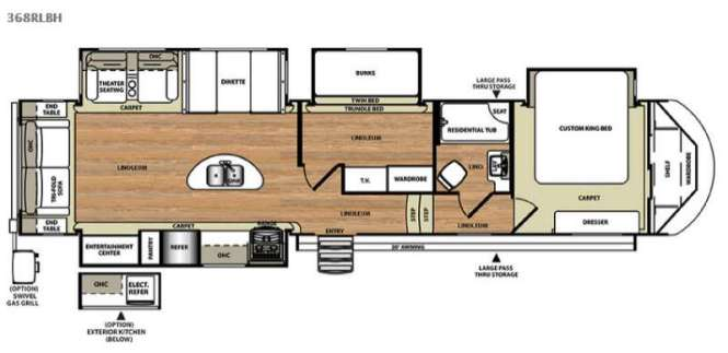2 Bedroom Fifth Wheel Rv Clairelevy. 2 Bedroom Fifth Wheel Floorplans   Bedroom Style Ideas