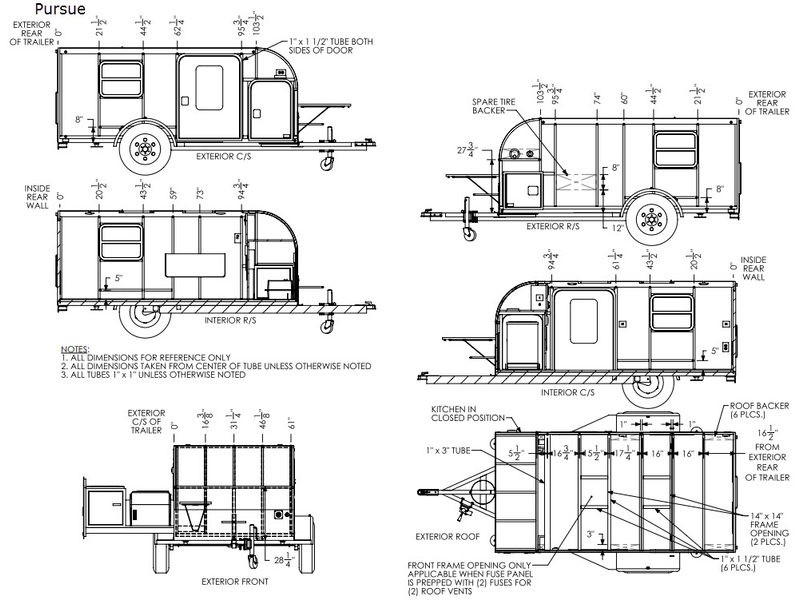New inTech RV Flyer Pursue Travel Trailer for Sale