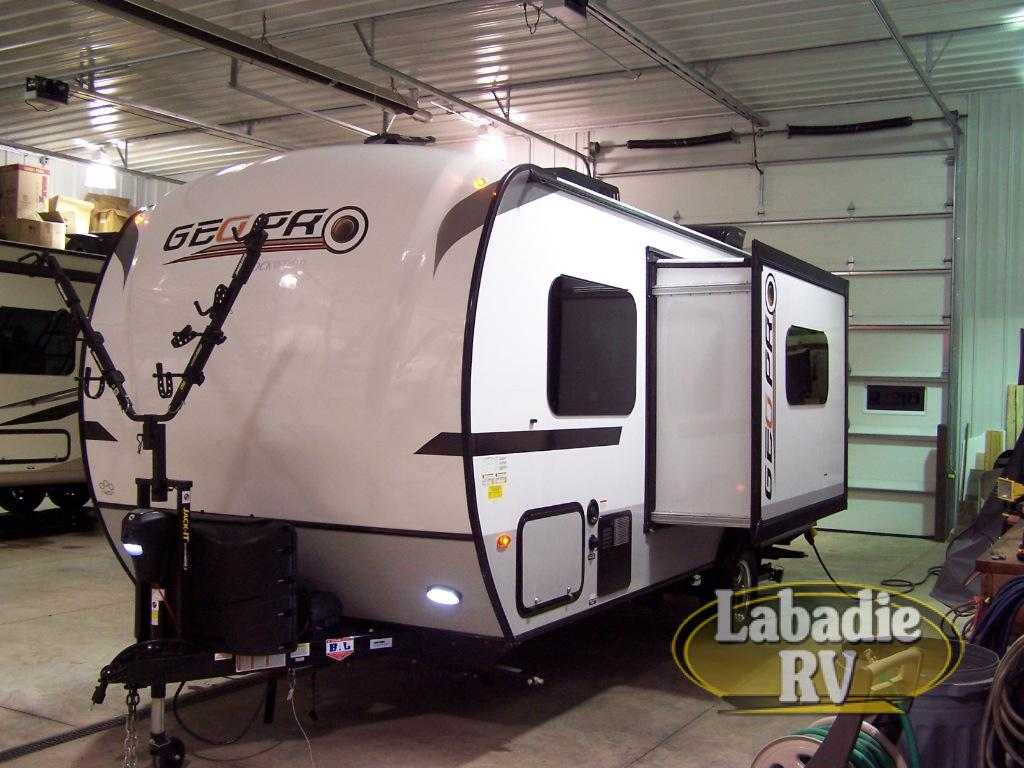 New 2019 Forest River RV Rockwood Geo Pro 19FBS Travel