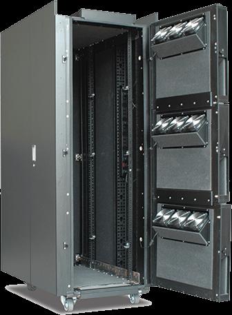 APC NetShelter CX 38U Secure Soundproof Server Room in