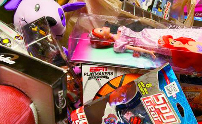 U S Marine Toys For Tots Toy Drive Chicago Charity