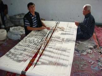 Uzbekistan warp resist