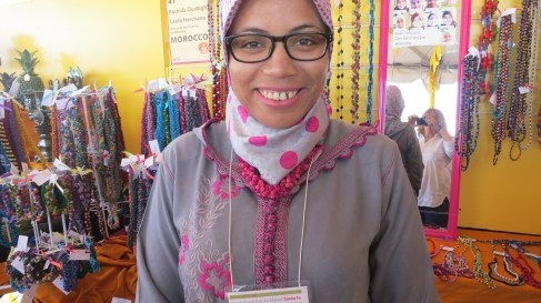 Rachida of the Moroccan Khenifra button makers