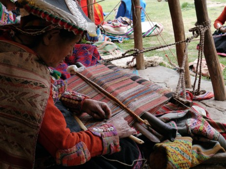 Multicolored supplementary weaving