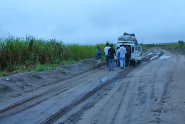 Moving goods in the D.R. Congo is an arduous and expensive journey.