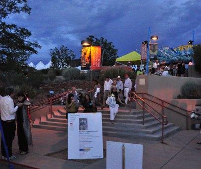 Opening night gala at Santa Fe Folk Art Market.