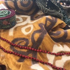 Felted Scarves from Kyrgyzstan.